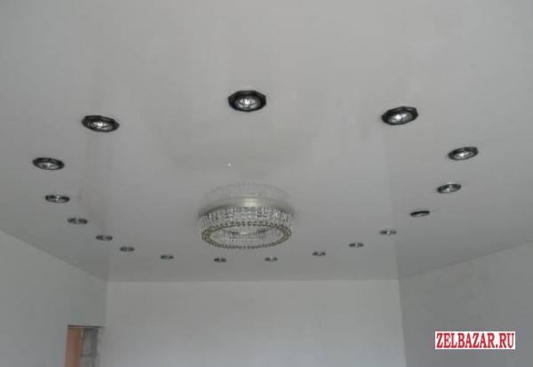 Монтаж и установка натяжных потолочных покрытий пленкой ПВХ,  тканью Descor импо